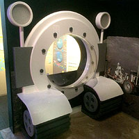 Bespoke Moon Buggy, courtesy of the National Space Centre