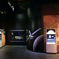 Bespoke Venus Exhibition, courtesy of the National Space Centre